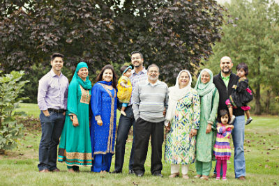 The Amjad Family