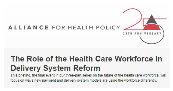 health care workforce and health care delivery essay The past few years have been tumultuous for most health care organizations as payment models, competition, regulatory changes, clinical advances, technology, and workforce changes have.